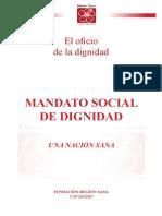 Libro Mandato social de dignidad
