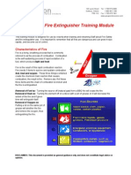 Fire Safety Taining Module