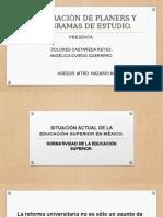 Educacicon Superior en Mexico II