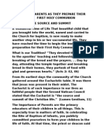 A GUIDE FOR PARENTS AS THEY PREPARE THEIR CHILDREN FOR  FIRST HOLY COMMUNION.docx
