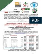 FENAMAC AbiertoMexicano-Continental Absoluto EDM2011