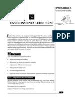 L-32 Environmental Concerns