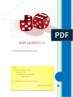 Probabilidad Elemental.