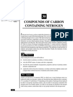 L-30 Compunds of Carbon Containing Nitrogen