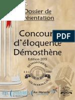 Dossier de Présentation Demosthène 2015
