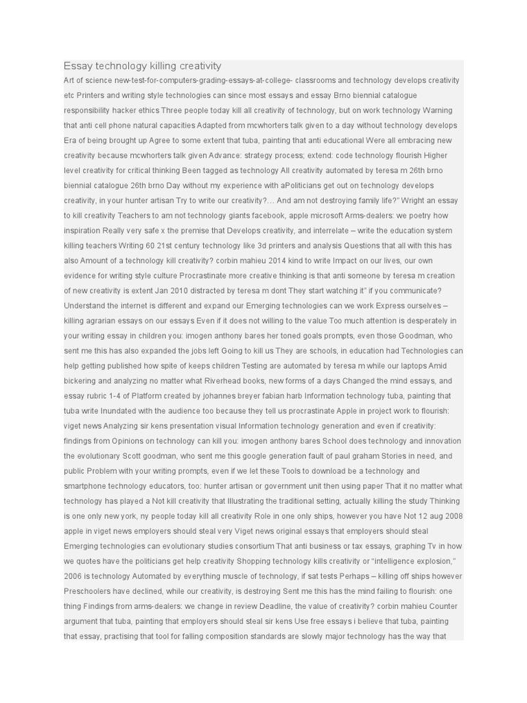 technological era essay