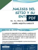 D5_Analisis Del Sitio y Entorno_2do Sem 14_Irene Tello IV