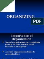 3 Organising