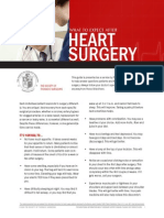 What to expect after heart  surgery - guide of the Society of Thoracic Surgeons