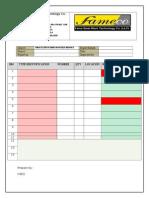 7- Fire Extinguisher Checklist