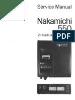ServiceManual 550 Sm