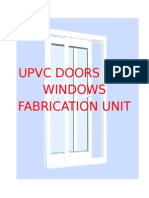 Upvc doors and windows making