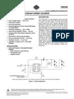 TPS 61042 - CONSTANT CURRENT LED DRIVER