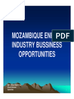 MOzambique Energy Business Opportunities