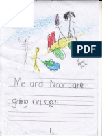 KG2B After Holiday Writing