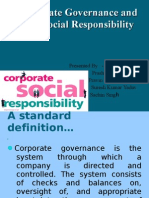 Corporate Governance And