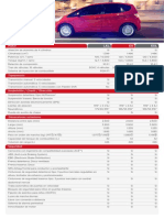 Datos Tecnicos Versiones FIT