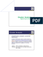 2014 Cluster Analysis Handout