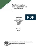 Panduan Penulisan Skripsi TA Artikel Rev 2014