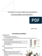 Tunneling & Rock Drilling Equipment