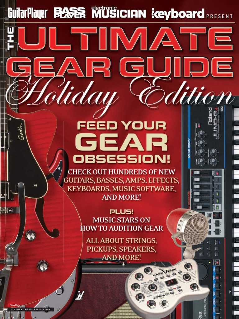 Guitar Player 2011 Ultimate Gear Guide Holiday Edition Guitars Wiring Help Dimarzio Super Distortion Harmony Central Bass