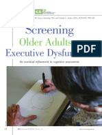 evaluating executive function in older adults article