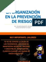 La Organización de La Prevención de Riesgos