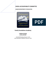 FFA Formal Review - CSAC Initial Report