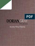 Dorian Gray Studios - Infobroschuere