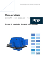 WEG Hidrogeradores Com Escovas 11966917 Manual Portugues Br