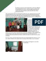 Santa Rosa Fund Xochilt Clinic in El Viejo Report July 2014