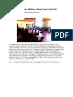 Santa Rosa Fund Library in El Viejo Report July 2014
