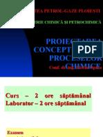 1_Proiectarea Conceptuala a Proceselor Chimice_2013