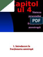 4 Sinteza Fractionarii Azeotrope 2013