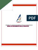 Manual de Procedimientos Para La Produccion