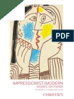 Impressionist/Modern Works on Paper