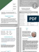 St Benedict's Newsletter 81