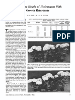 Hydrangea Grouth Regulators