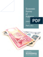 Economic Survey Pakistan 2007-08-01