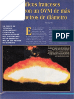 Cientificos Franceses Fotografiaron Un Ovni de Mas de 200 Metros de Diametro R-080 Nº055 - Reporte Ovni