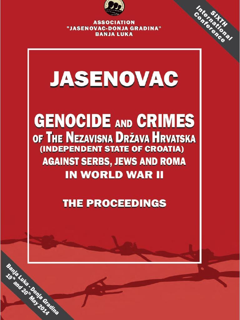 Konferencija - Jasenovac -Eng | Bosniaks | Serbia