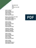 Amani Utupe Lyrics