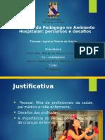 Apresentação Mono - Pedagogia Hospitalar 2014