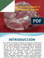 Formación de Los Andes y Los Recursos Naturales