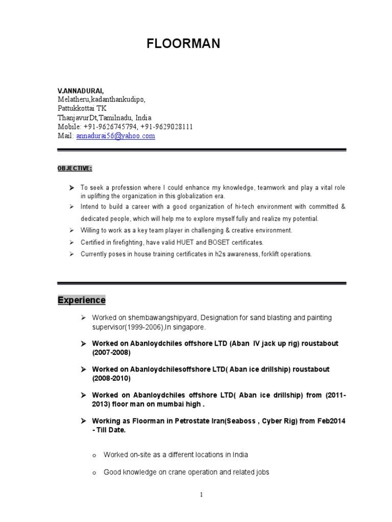 Anna Durai Resume (1)