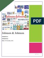 JOHNSON & johnson pharmaceuticals.docx