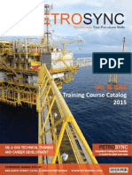 PETROSYNC - Training Catalog Yearly Version - 2015
