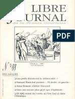 Libre Journal de la France Courtoise N°088