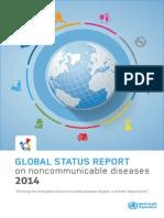 Informe Sobre Enfermedades No Transmisibles -OMS