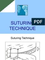Suturing